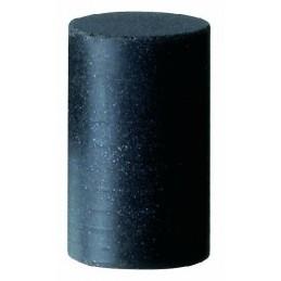 Polissoir en silicone cylindrique C12m 12x20mm grain moyen