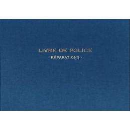 LIVRE DE POLICE REGISTRE BIJOUTIER REPARATION