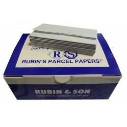 PLIS POUR PIERRES DOUBLES RUBIN - N° 1 BLANC