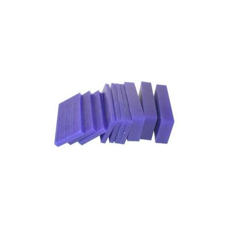 BLOC CIRE BLEUE EN LAMELLES 80x37mm (2767)