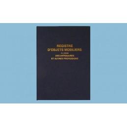 REGISTRE LIVRE DE POLICE POUR ANTIQUAIRES ET BROCANTEURS - 320 x 250 - 104 pages -320 x 250 - 104 pages