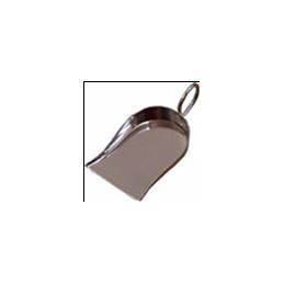 PELLE A PIERRES AVEC MANCHE - ACIER INOX