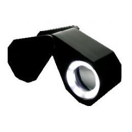 LOUPE A LED + UV 10X APLANETIQUE - ACHROMATIQUE