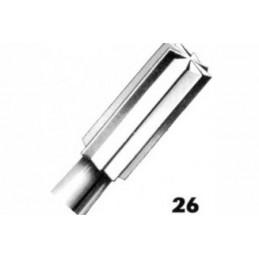 Cône cylindre à bout plat REF 26 007